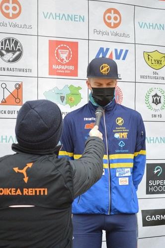 Eetu voitti lauantaina. Kuva: Mikko Niskanen/Viestiliiga